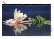 Edible Frog Rana Esculenta Two Frogs Carry-all Pouch