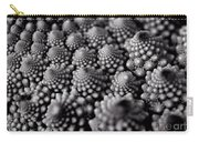 Edible Pearls Black And White Carry-all Pouch
