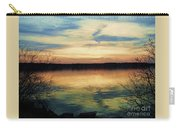 Edinboro Lake Nocturne No.3 Carry-all Pouch
