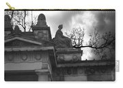 Edinburgh Black And White Carry-all Pouch