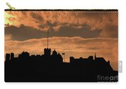 Edinburgh Castle Silhouette  Carry-all Pouch