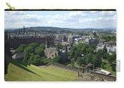 Edinburgh Castle View #6 Carry-all Pouch