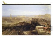 Edinburgh From The Castle Carry-all Pouch