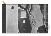 Edison Fluoroscope, 1896 Carry-all Pouch by Science Source