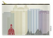 Edmonton Skyline Poster Carry-all Pouch