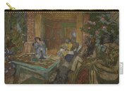 Edouard Vuillard  Sewing Party At Loctudy Carry-all Pouch