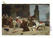 Eduardo Zamacois Y Zabala , Returning To The Monastery 1868 Carry-all Pouch