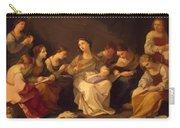 Education Of The Virgin 1642 Carry-all Pouch