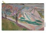 Edvard Munch , Landscape, Kragero Carry-all Pouch