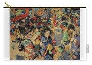 Edward Atkinson Hornel 1864 - 1933 Carnival Day, Japan Carry-all Pouch