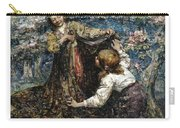 Edward Atkinson Hornel 1864 - 1933 The Butterfly Catchers Carry-all Pouch