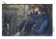 Edward Burne-jones, Love Among The Ruins, 1894 Carry-all Pouch