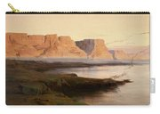 Edward Lear The Rocks At Kasr Es Saad Carry-all Pouch