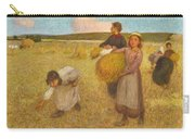 Edward Stott, A.r.a. 1859-1918 Harvesters Carry-all Pouch