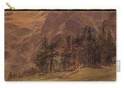 Edward Theodore Compton American 1849-1921 Mountains At Twilight, 1907 Carry-all Pouch