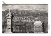 Eerie Cemetery Carry-all Pouch by James BO  Insogna