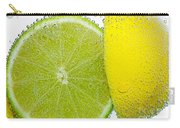 Effervescent Lime And Lemon By Kaye Menner Carry-all Pouch
