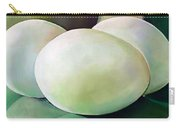 Eggs On Fiesta Vintage Dinnerware Carry-all Pouch