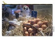 Eggsactly What You Are Looking For - La Bouqueria - Barcelona Spain Carry-all Pouch