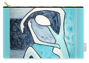 Eggtree Abstract Art Figure Carry-all Pouch