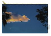 Egressing Egret Carry-all Pouch