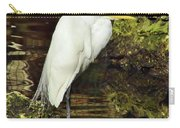 Egret At Rest Carry-all Pouch