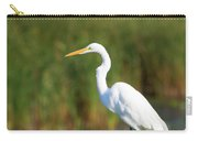 Egret At The River Carry-all Pouch