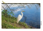 Egret In Florida Color Carry-all Pouch