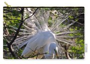 Egret In The Thicket Carry-all Pouch
