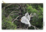 Egret Morning Carry-all Pouch