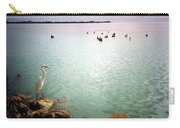Egret On Marathon Key Carry-all Pouch