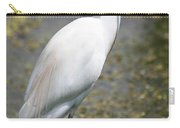Egret Or Crane Carry-all Pouch