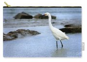 Egret Patrolling Carry-all Pouch