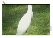 Egret Posing Carry-all Pouch