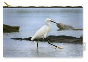 Egret Step Carry-all Pouch