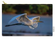 Egret Sunset Carry-all Pouch