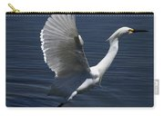 Egret Taking Off Carry-all Pouch