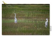 Egrets In A Field Carry-all Pouch