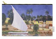Egypt Blue Carry-all Pouch by Clive Metcalfe