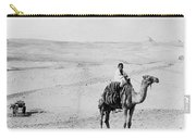 Egypt: Boy On Camel, C1908 Carry-all Pouch