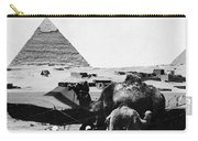 Egypt: Camel & Baby, C1899 Carry-all Pouch