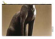 Egyptian Bronze Statuette Carry-all Pouch