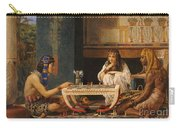 Egyptian Chess Players Carry-all Pouch by Sir Lawrence Alma-Tadema