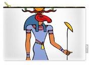 Egyptian God - Khensu Carry-all Pouch