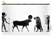 Egyptian Gods And Demons Carry-all Pouch by Michal Boubin