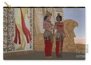 Egyptian King And Queen Carry-all Pouch