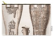 Egyptian Mummy, Illustration Carry-all Pouch
