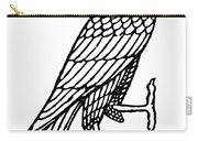 Egyptian Symbol: Falcon Carry-all Pouch