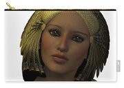 Egyptian Woman Face Carry-all Pouch