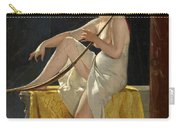 Egyptian Woman With Harp Carry-all Pouch